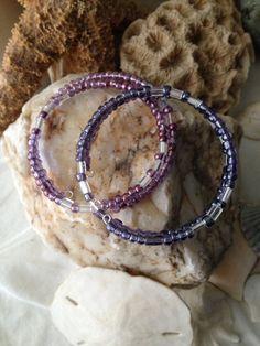 Lavender & Amethyst bracelets by WSJ