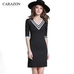 High Quality Summer Women Dress Mini Casual V Neck Half Sleeve Slim  Fringe Patchwork Soft Comfortable Preppy Chic D5275#