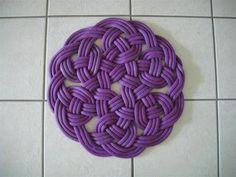 Pattern idea for topiary plait knot garden
