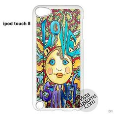 Love Shines Singleton Hippie Art Phone Case For Apple, iphone 4, 4S, 5, 5S, 5C, 6, 6 +, iPod, 4 / 5, iPad 3 / 4 / 5, Samsung, Galaxy, S3, S4, S5, S6, Note, HTC, HTC One, HTC One X, BlackBerry, Z10
