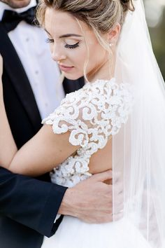 This bride is absolute perfection!