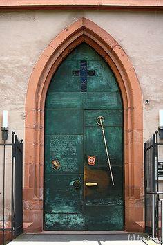 St. Stephen's Church #door - Mainz, Germany