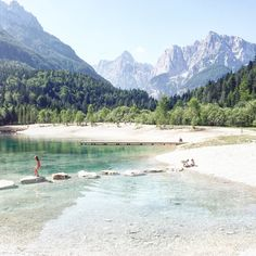 Summer in Slovenian Alps: The most beautiful places - Summer in Slovenian Alps: The most beautiful places - Places To Travel, Places To See, Travel Destinations, Beautiful Places In The World, Beautiful Places To Visit, Bus Und Bahn, Coach Travel, Slovenia Travel, Bohinj