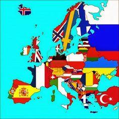 Entraînement en ligne - FLE: Pays et adjectifs de nationalité -jeu de placement...