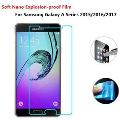 Newest Soft Explosion-proof Nano Protection Film Foil For Samsung Galaxy A3 A5 A7 2016 A510 A7 A3 A5 2017 Not Tempered Glass