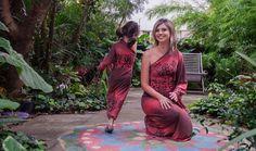 Modelagem de vestidos de malha: Tal mãe, tal filha