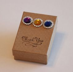 Indian wedding Favor box Set of 10 Gift Box Craft by GlamourWed, $70.00