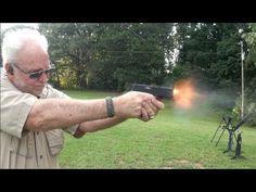 Springfield XDS .45 ACP Pistol Shooting