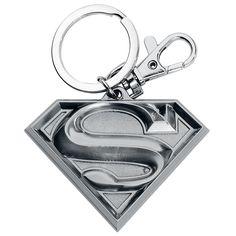 Portachiavi di #Superman con pendente.