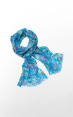 oh hey, an expensive scarf with my sorority print. well, that's cool. it's a cute scarf though.