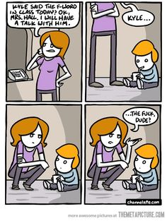 I might have this problem if I have kids! :)