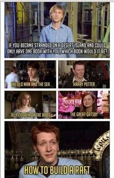 """I like that one of them said, """"Harry Potter."""" It means that it will never leave them, so whether they come back by the book or the screen, they'll always be able to see themselves again."""