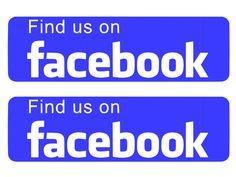 Custom Facebook Business Company Car Van Advert Vinyl Rear Window - Facebook window stickers for business uk