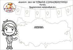 1 Ankara, Preschool Painting, Special Day, Activities For Kids, Kindergarten, Snoopy, Education, Comics, Children