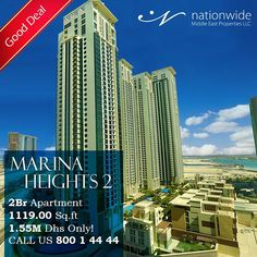Good Deal!  Own an apartment in Marina Height 2 Reem Island just for 1.55M.   0509138969 - 800 14444  Email @ Info@nwmea.com  Web @ www.nwmea.com  #reemisland #gooddeal #dreamhouse #milliondollarlisting #marinaheights #HouseHunting #NewHome #ForSale #RealEstate #Realtor #Realty #Broker #HomeSale #Properties #Investment #JustListed #propertymanagement #instaAbuDhabi #followme #Nationwide_AD #NationwideDeals #AbuDhabi #alreemisland #specialoffer #عقارات #شقق_للبيع #جزيرة_الريم #نيشن_وايد