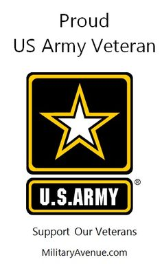 Proud US #Army #Veteran - Facebook.com/MilitaryAvenue
