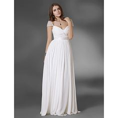 Chiffon A-line Floor-length Evening/Prom Dress  - USD $ 88.49