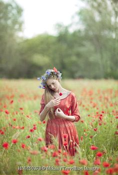 Trevillion Images - young-woman-in-poppy-field