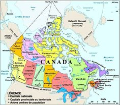 Printable Map of Canada Puzzle Kids learning Learning and Geography