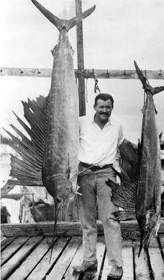 Ernest Hemmingway, Key West, 1940's