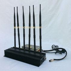 each band is 5W signal blocker from vodasafe jammer store www.vodasafe.com