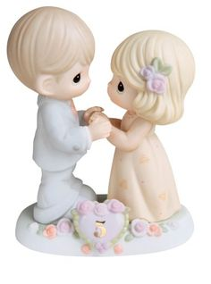 "Precious Moments ""I Fall In Love With You More Each Day""  Figurine"