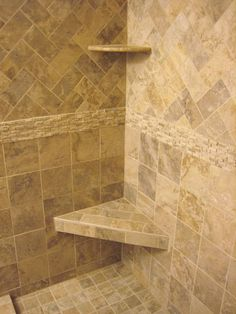 Bathroom Inspiration Immaculate Corner Caddy Bath Over Small Custom Handmade Triangle Shower Seating Design With Old Marble Shower Tile Ideas Supreme Shower ...