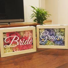 いいね!33件、コメント3件 ― Saoriさん(@sally_wedding325)のInstagramアカウント: 「#受付サイン 完成しました〜🙌🏻✨ セリアで買った木の箱に、造花を詰め詰め💨 造花はダイソーとセリアで買ったものです。 うん、いい感じ❤ #プレ花嫁 #2018春婚 #和歌山花嫁 #結婚式準備…」