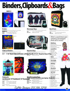 can be designed with your photos, logos, and other  #office #luggage #bags #bookbags #notebooks #binders #clipboards #school #lawoffice #lawfirms #doctors #nurse #teacher #policeofficer #chiropractor #podiatry #medical #dental #dentist #plumber #carpenter