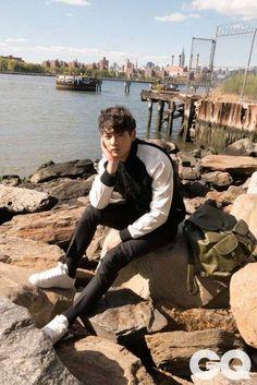 SHINee's Minho enjoys the outdoors for 'GQ' | allkpop.com