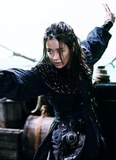 Son Ye-jin in 'Pirates' (2014).                                                                                                                                                                                 More