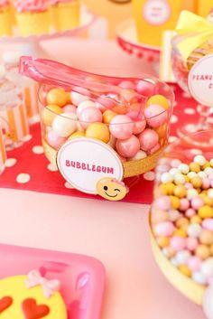 Bubblegum from a Pin