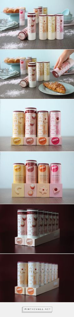 DOMECA Powdered Sugar — The Dieline - Branding & Packaging... - a grouped images picture - Pin Them All