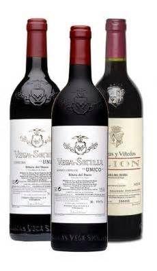 Vino Tinto Bodegas Vega Sicilia / Spain