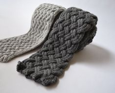 Causey & Flagstone Two Scarf Knitting Patterns - PDF