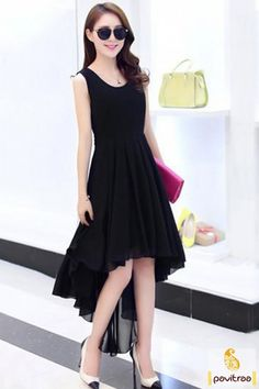 Trendy black color A line kurtis for girls with free shipping and cod. Buy…