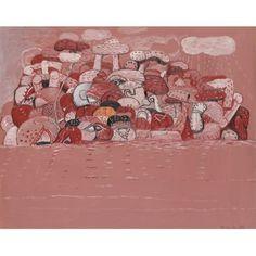 Philip Guston, Pink Sea