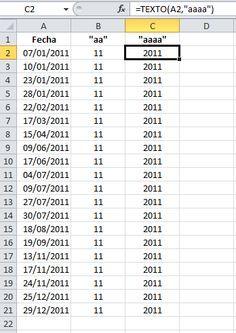 Extraer información de una fecha
