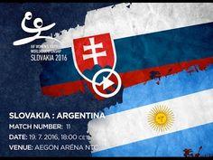 SLOVAKIA : ARGENTINA Bratislava, World Championship, Egypt, Youth, Argentina, Handball, World Cup, Young Adults, Teenagers