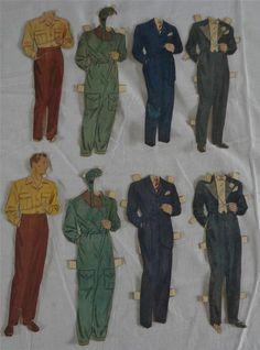Clark Gable paper dolls / eBay