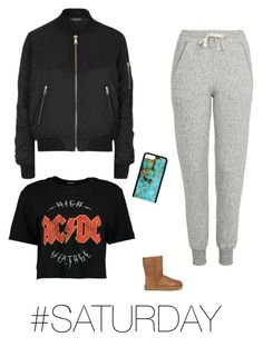 """""""🛍Shopping at World Trade Center Mall"""" by jadesfit on Polyvore featuring Topshop, Boohoo and UGG"""