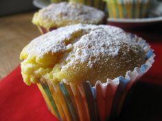 Muffins dolci al formaggio