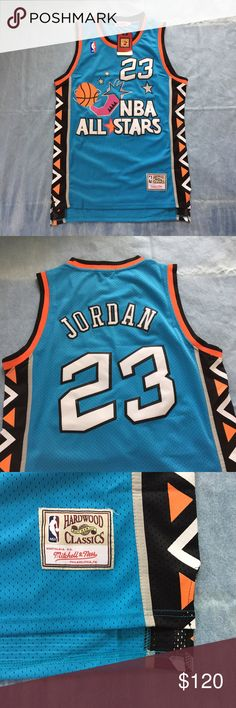 Michael Jordan 1996 NBA All Stars Jersey This jersey in perfect condition and has never been worn. Mitchell & Ness Shirts Tank Tops