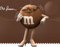 Brown M&M: She knows exactly what to put in your Easter basket.