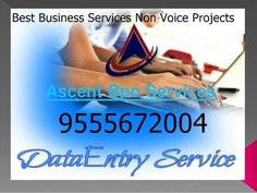 Best Business Services Offline Projects Data Entry | Ascent bpo Data Entry…