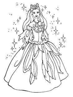 coloring book pages to print | Princess Coloring Page | Coloring Ville