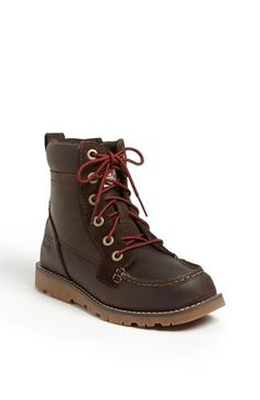 Timberland Earthkeepers® Moc Toe Boot (Toddler, Little Kid & Big Kid) | Nordstrom