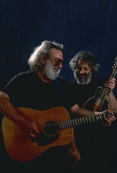 Jerry Garcia and David Grisman