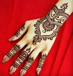 Bangle-Style-Khaleeji Henna Mehndi Designs for Hand and Feet 2016 2017