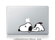 snoopymac decal mac stricker mac pro decal mac air by sunnyluo, $8.99